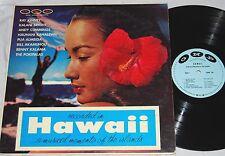 V/A HAWAII MUSICAL MOMENTO R.Kinney K.Bright A.Cummings P.Almeida H.Kahalewai LP