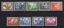 Germany #B49 - #B57 NH Mint Rare Set