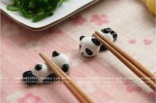 Cute Panda Chopstick Rest Novelty Lovely Kawaii Gift China Set of 1 ,2 or 4 UK