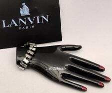 LANVIN Swarovski main Bracelet Broche Avec Boite Cadeau Idéal