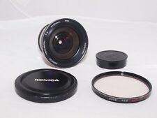 Konica Hexanon 21mm f/4 extra wide angle lens. Sony a7R111, Sony a9, micro 4/3