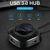 USB HUB 4-Port HUB Docking Station Laptop 1 For 4 Converter Extension Splitter P