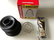 2 x Axle Boot Universal CV88 Elastic/Flexible Large 80-125mm FA. (Bailcast)