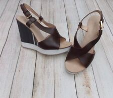 JIL SANDER CRISSCROSS WEDGE SANDALS>BN>GENUINE>394>6.5uk>39.5>SHOES>HEELS>
