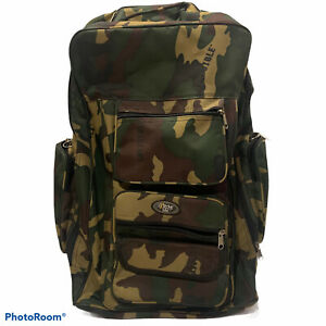 Extreme pak invisible camo travel Heavy Duty Military Travel backpack  Wheels