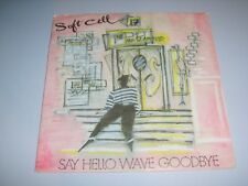 """MARC ALMOND/SOFT CELL - Say Hello Wave Goodbye French 1982 Celluloid 7"""""""