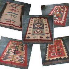 Wholesale Lot Kilim Rug Jute Wool moroccan rug persian rug vintage kilim rug 5 P