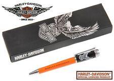 Harley Davidson Vintage Rider #HDBP-1750 / Black & Orange with Eagle