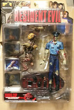 Resident Evil series 2 BLUE ZOMBIE COP/LICKER action figure~Palisades~Biohazard