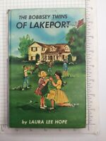 Vintage 1961 #1 Bobbsey Twins Book The Bobbsey Twins of Lakeport Laura Lee Hope