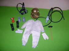 1964 VINTAGE GI JOE ACTION SAILOR NAVY DEEP SEA DIVER EQUIPMENT