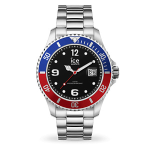 Ice-Watch Men's Black Dial Stainless Steel Watch 016545 RRP £135