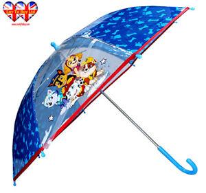 Paw Patrol Umbrella, Children's Transparent Umbrella, Official Licensed