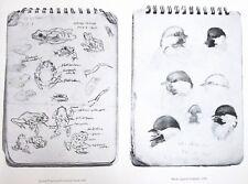Vintage Art Robert Bateman 3 in 1 Peeper Toad 1947 Chickadee 1948 Ruby Kinglet