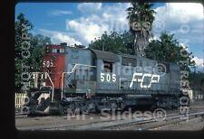 Original Slide FC del Pacifco  ALCO RSD12 505 Guad JAL 1985
