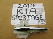 2014 KIA SPORTAGE 1.7 DIESEL 2WD OEM FRONT LEFT EXTERNAL CHROME DOOR HANDLE NSF