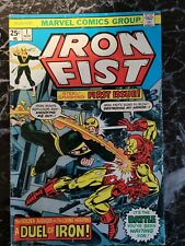 1976 Iron Fist No. 1. Nov.  Marvel comic
