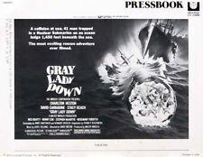 GRAY LADY DOWN great movie PRESSBOOK 1978