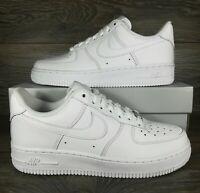 NikeAir Force 1 '07 Low 'Triple White' Sneakers (315115-112) Women's Sizes