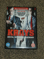 RISE OF THE KRAYS : 2015 BRITISH GANGSTER DVD - IN VGC (FREE UK P&P)