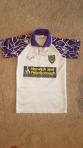 Norwich City Football shirt - Very Rare - Size Boys