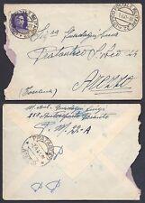 POSTA MILITARE 1941 Lettera PA da PM 22 a Pratantico (D3)