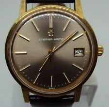 Vintage Men's Automatic Watch Eterna-Matic Cal. 2824 25 J. Swiss Made