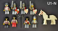 Lego Lion Knights  Minifigures Lot Fantasy Era Castle Kingdoms w/ Weapons Shield