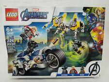 Lego Marvel Avengers Speeder Bike Attack 76142 226 pcs New Dented Box