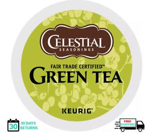 Celestial Seasonings Green Tea Keurig Tea K-cups YOU PICK THE SIZE