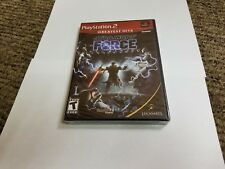 Star Wars: The Force Unleashed (Sony PlayStation 2, 2008) new