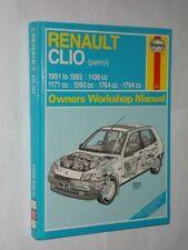 Renault Paper Car Service & Repair Manuals