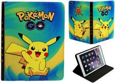 For Apple iPad Mini 1 2 3 Great Pokemon Pikachu Fun Kids Cartoon Case Cover