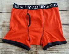 American Eagle Men's Orange Boxer Brief Size M