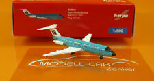 Herpa Wings 533010 BAC 1-11-200 Braniff International Jelly bean Turquoise 1:500