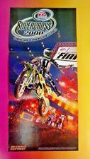 NEW Supercross 2000 EA Sports - Nintendo 64 Power Original RARE Poster N64