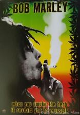 "BOB MARLEY Flag/ Tapestry/ Fabric Poster ""Herb""  NEW"