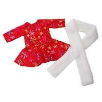 Fashion Christmas Suit For 18 inch Girl Doll Clothes N2P5