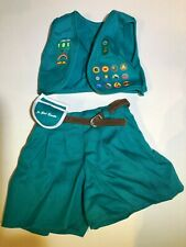 New ListingPleasant Company American Girl 1996 Girl Scout Uniform Retired Incomplete