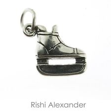 925 Sterling Silver Ice Hockey Skate Charm Made in USA