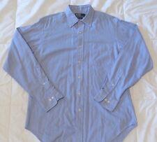 Ralph Lauren Andrew Mens LS Button-Down Shirt Size 15 1/2 34-35 Free Shipping!!!