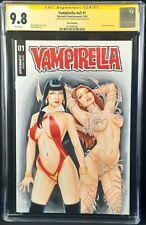 VAMPIRELLA #1 CGC SS 9.8 ORIGINAL ART SKETCH WITCHBLADE SEX GOTHIC VAMP DARKNESS