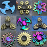 0New Flame Wings Gear Fidget Finger hand Spinner EDC Game Metal Gyro kids Toy 21