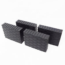 "Solid Rubber Lift Block Pad  (6"" x 4 3/4"" x 1.5"")  ( Set Of 4 ) RUBBER SPACER"