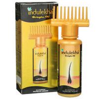 Indulekha Bringha Hair Oil Selfie Bottle 100 ml For Regrow Hair (100 % Genuine)