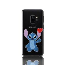 Stich Silicone Case For Samsung Galaxy S6 S7 Edge Gel Cover Samsung S8 S9 Plus