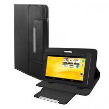 Schutz Tasche f. TrekStor SurfTab xiron 7.0 3G Hülle Case Kunstleder schwarz