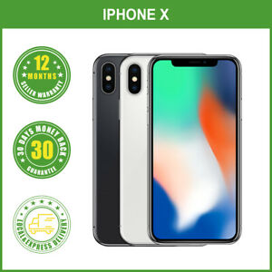 New Apple iPhone X 64GB 256GB  Factory Unlocked Sealed FREE EXPRESS