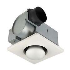 NuTone 70 CFM Bathroom Ceiling Fan with 250-Watt 1-Bulb Infrared Heater + 1 Bulb