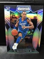 PJ Washington Jr. 2019-20 Prizm Draft Pick Silver Prizm Rookie Card #77 Kentucky